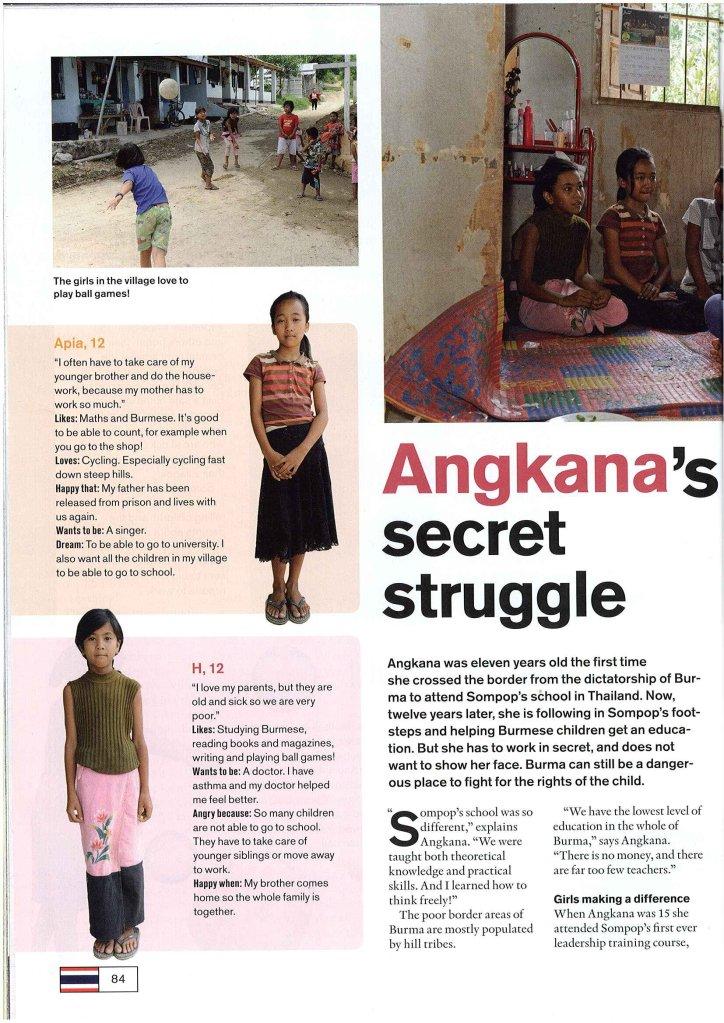 Angkana's Struggle